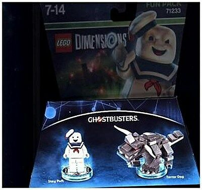 LEGO Dimensions, Fun Pack, Ghostbusters, Stay Puft, 2 Figuren