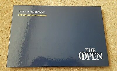 The Open golf 145th Royal Troon special boxed official programme