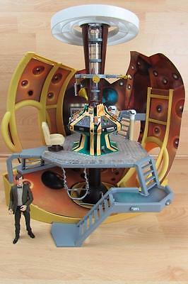 Complete Dr Who Detailed Tardis Model Console Playset 11th Doctor