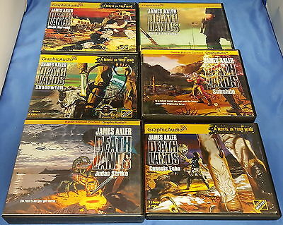 Lot of 6 Graphic Audio James Axler: Deathlands Series CD Audio Books