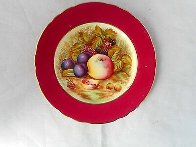 BEAUTIFULLY DECORATED AYNSLEY SIDE PLATE(16cms diameter)
