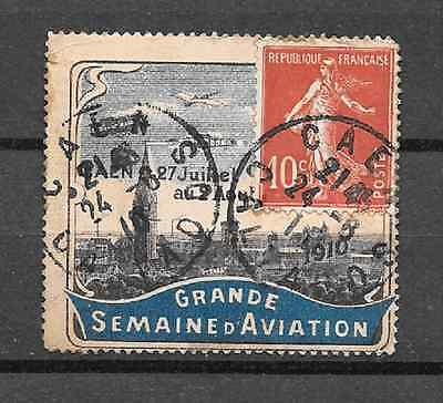 Vignette Grande Semaine De L' Aviation 1910 (Lot 4/1)