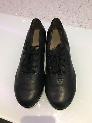 Girls 7 1/2 Leather Tap Shoes