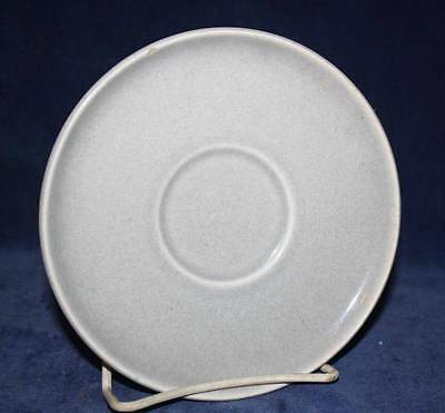 "One Vintage Russell Wright Gray 5 3/4"" Saucers"