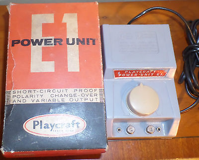 VINTAGE PLAYCRAFT POWER SUPPLY CONTROLLER for hornby trains hobbys crafts