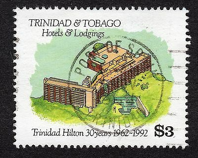 1994 Trinidad & Tobago $3 Hotels And Lodgings SG 848 FINE Used R18193