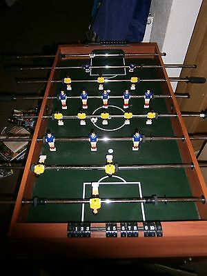 Wooden football table with legs Good Condition