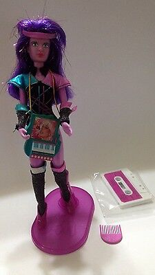 Vintage Jem SYNERGY Doll With Her Keyboard And Complete Outfit w/ Accessories
