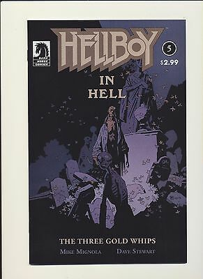 Hellboy in Hell Comic Book Issue #5 Mike Mignola Dark Horse 2012. SEE SCANS! WOW