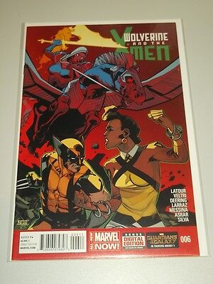 Wolverine And The X-Men #6 Marvel Now Comics Nm (9.4)