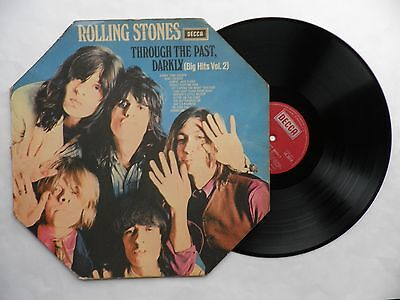 Rolling Stones Through the Past Darkly Big Hits vol.2 1969 rare red label LK5019