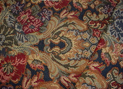 Stroheim Romann Floral / Leaf Tapestry Upholstery Fabric