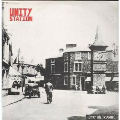 UNITY STATION C1177 The Triangle LP VINYL 4 Track With Insert Featuring My