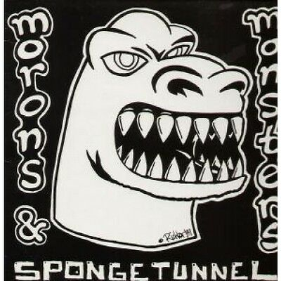 SPONGE TUNNEL Morons And Monsters LP VINYL 12 Track With Insert (Uduk1) UK