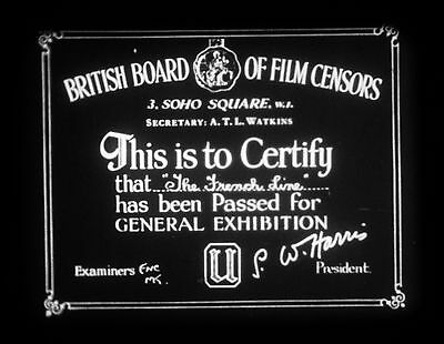 """16mm Film """"THE FRENCH LINE"""" (First Reel Only)"""