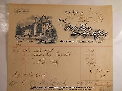 The Port Hope Brewing & Malting Co., Port Hope Ontario