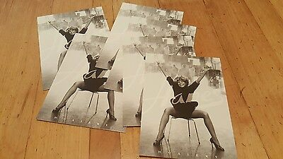 Tina Turner Lot of 6 postcards Hanes Tower Records 1996 MINT condition