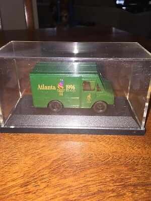 Ups United Parcel Service Green Mini Atlanta 1996 Olympics Truck (Kc)