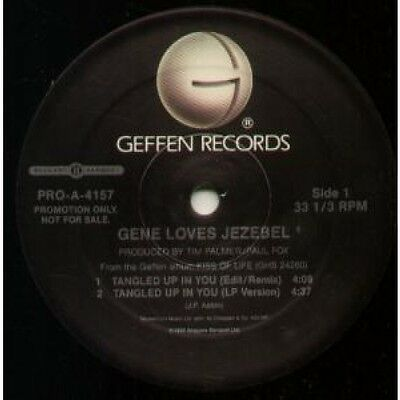 "GENE LOVES JEZEBEL Tangled Up In You 12"" VINYL 4 Track Promo Featuring"