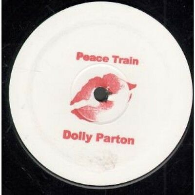 """DOLLY PARTON Peace Train 12"""" VINYL 3 Track Diddy Man Vox Dub Promo With Stamped"""