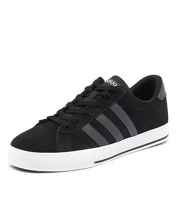 New Adidas Neo Daily Black/Grey/White Men Shoes Casuals Sneakers Sneakers