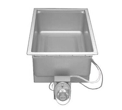 "Wells SS-206D Food Warmer top-mount built-in electric 12"" x 20"" pan opening with"