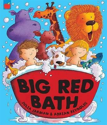 Big Red Bath, Julia Jarman | Paperback Book | 9781843626053 | NEW