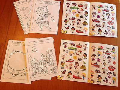 Little Einsteins Party Pack Stickers Coloring Sheets