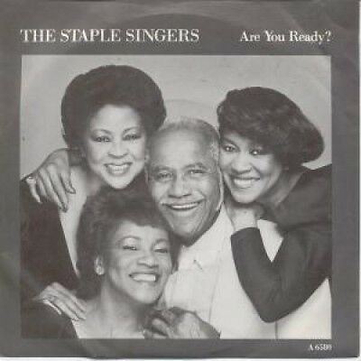 """STAPLE SINGERS Are You Ready 7"""" VINYL B/W Love Works In Strange Ways (A6580)"""