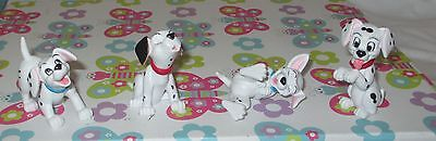 COLLECTABLE DALMATION DOGS SET x 4  FIGURES