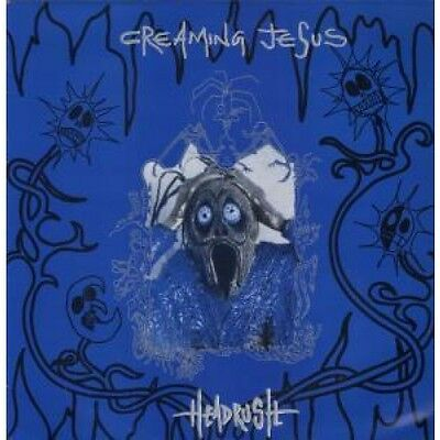 "CREAMING JESUS Headrush 12"" VINYL 4 Track Featuring Upside Down B/W Estate"