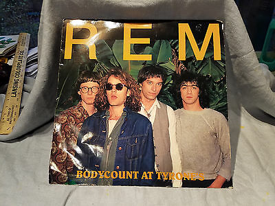 vintage REM album cover w/o record Brigand Ghost Vipers album inside
