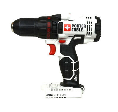 """New Porter Cable 20V Max Linked 1/2"""" Cordless Drill Driver Pcc601 (Tool Only)"""