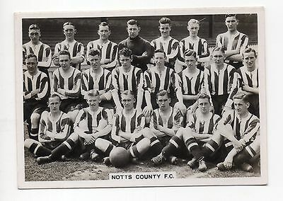 Notts County Ardath Photocards Supplementary Series -  Football Teams 1936