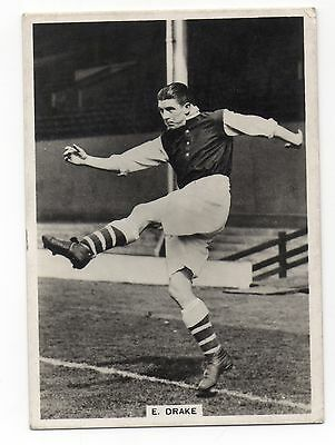 E. Drake Arsenal Ardath Photocards Group Gs -  Footballers 1938
