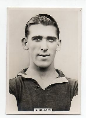 L. Goulden West Ham United Ardath Photocards Group Gs -  Footballers 1938