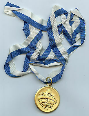Finland Firefighter Medal Fireman High Condition !!!