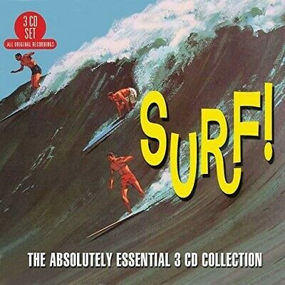 Various Artists - Surf: Absolutely Essential 3CD Collection [New CD] UK - Import