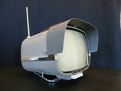 First Sony Television Made Historical Antique Old Transistor Tv Retro Space Age
