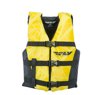 FLY Racing Youth Vest Life Vest Black/Yellow OS