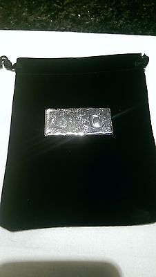235g Hand Poured 999 Silver bar investment pure bullion invest