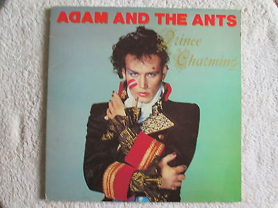 """Adam And The Ants 12"""" Stereo Vinyl LP Prince Charming 1981"""