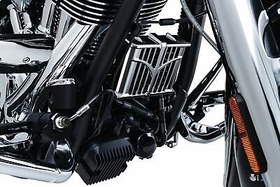 Kuryakyn Classic Chrome Oil Cooler Cover Front Engine Down Tube Indian 5640