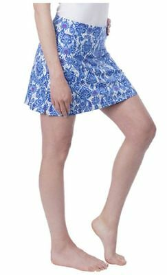 NEW Tranquility by Colorado Clothing Skort Skirt Blue Antiquity Size S Small