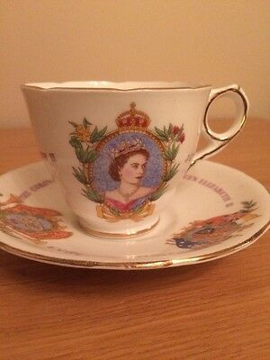 Coronation Cup And Saucer