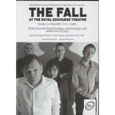 FALL At The Royal Exchange Theatre FLYER A6 Doublesided Card Flyer Featuring