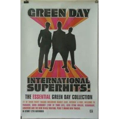 GREEN DAY International Superhits POSTER Full Colour Album Promo Poster Approx