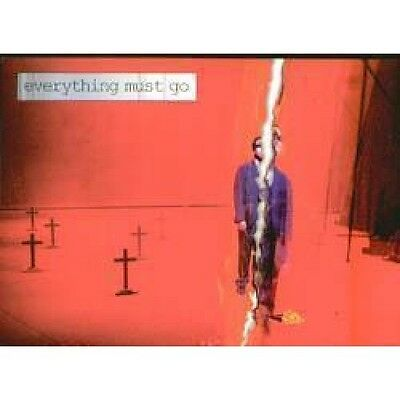 MANIC STREET PREACHERS Everything Must Go CARD Promo Postcard For Play By