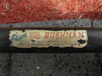 "Vintage 36"" BUSHMAN BOW SAW, Made in Sweden"