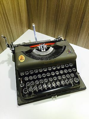 1950s Imperial Portable Typewriter No1 Good Companion, Working, Stunning